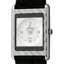 Concord Delirium 60.C1.670 18K White Gold 23mm Strap Watch