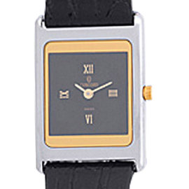 Concord Delirium Stainless Steel & 18K Yellow Gold 23mm Strap Watch