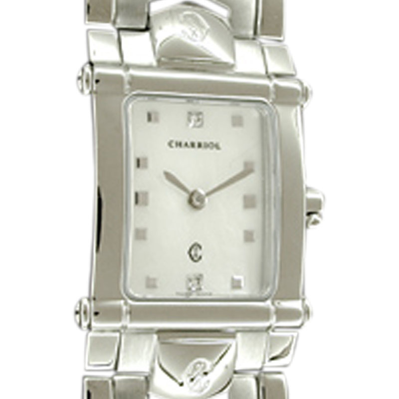 "Image of ""Charriol Stainless Steel Colvmbvs Integral Watch"""