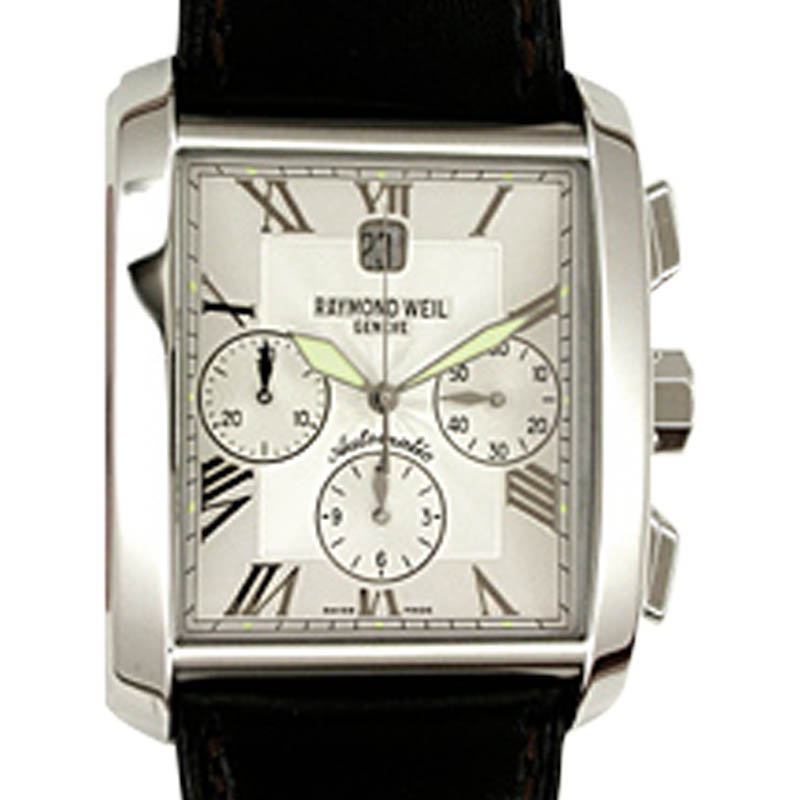 "Image of ""Raymond Weil Don Giovanni Chronograph Stainless Steel Mens Watch"""