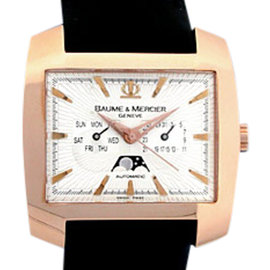 Baume & Mercier Hampton Spirit XL 18K Rose Gold 40mm Watch