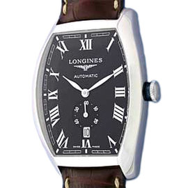 Longines Evidenza L2.642.4.51 Stainless Steel Tonneau 39mm Watch
