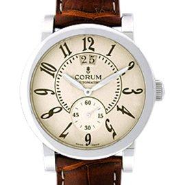 Corum Grande Date 92220120/0F02 Stainless Steel 42mm Strap Watch