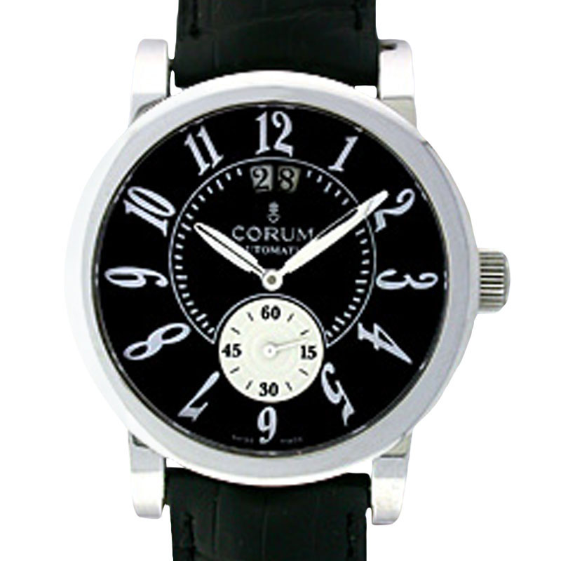"Image of ""Corum Grande Date Stainless Steel Strap Watch"""