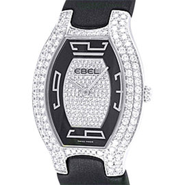 Ebel 18K White Gold Diamond