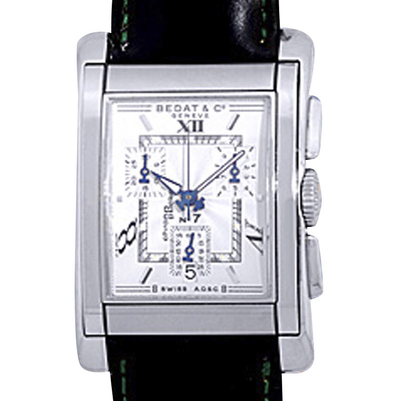 """Image of """"Bedat & Co. No. 7 ChronoPocket Stainless Steel Mens Watch"""""""