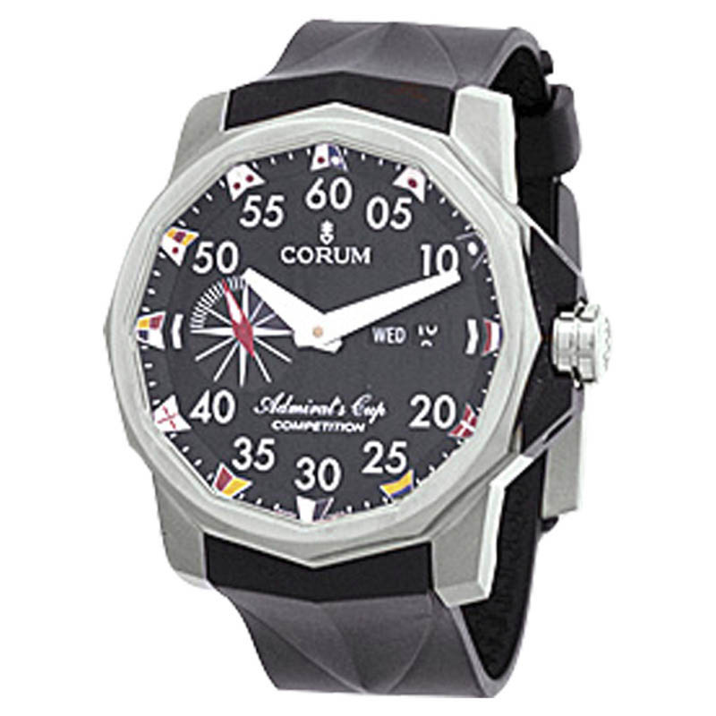 """""Corum Admirals Cup Tides 48 Titanium Competition Mens Watch"""""" 439930"