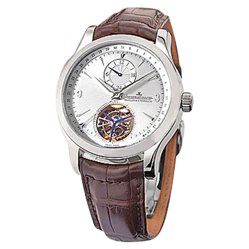 "Image of ""Jaeger LeCoultre Master Control Tourbillon Stainless Steel Mens"""