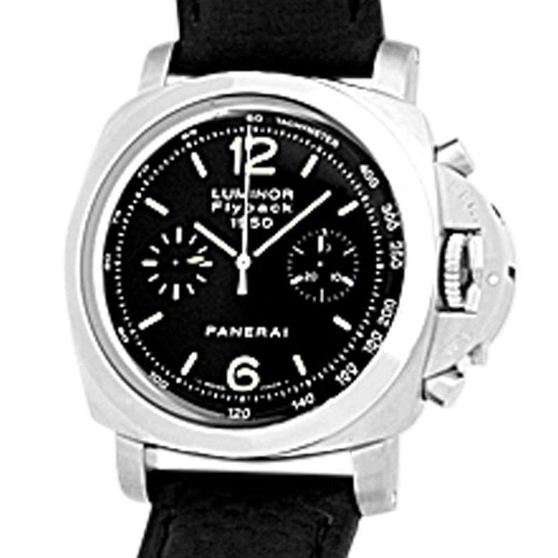 "Image of ""Panerai 1950 Pam212 Luminor Flyback Chronograph Stainless Steel"""