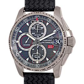 Chopard Mille Miglia GT XL Titanium Chronograph Strapwatch Mens Watch