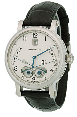 "Image of ""Martin Braun EOS Stainless Steel Watch"""