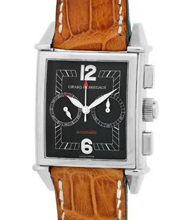"""Image of """"Girard Perregaux Vintage 1945 Chronograph Stainless Steel Mens Watch"""""""