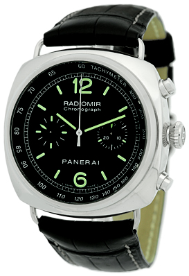 """Image of """"Panerai Radiomir Pam00288 Stainless Steel & Leather Automatic 45mm"""""""
