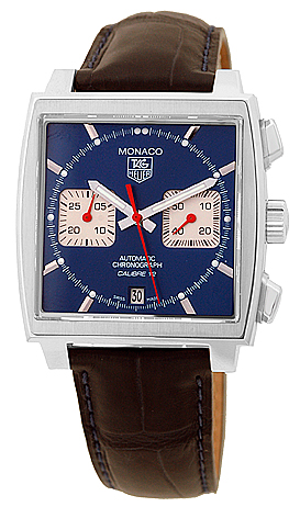 "Image of ""Tag Heuer Monaco Chronograph Stainless Steel Mens Watch"""