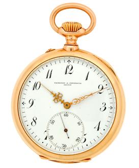"Image of ""Vacheron Constantin 14K Rose Gold Vintage Pocket Watch"""