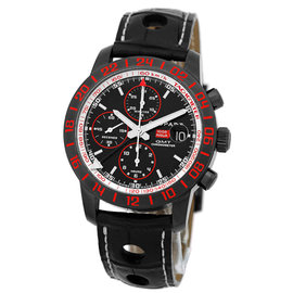 Chopard Mille Miglia GMT Speed Black 2 Chronograph Black DLC Stainless Steel Strap Mens Watch