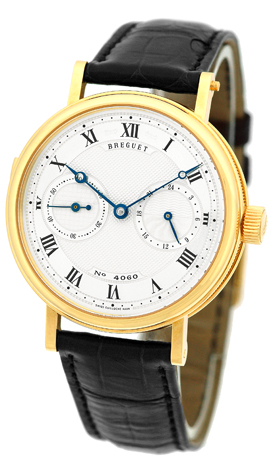 """Image of """"Breguet Minute Repeater 18K Yellow Gold Mens Strap Watch"""""""