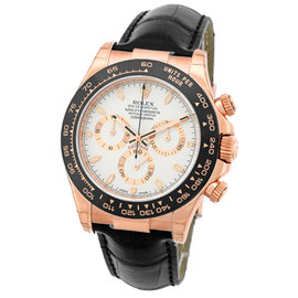 Rolex Daytona Cosmograph 18K Rose Gold & Ceramic Mens Watch