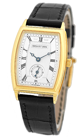 "Image of ""Breguet Heritage 18K Yellow Gold Womens Strap Watch"""