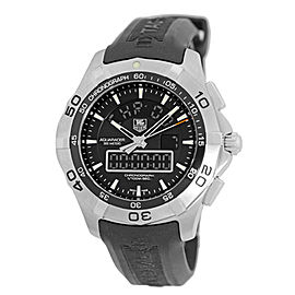 Tag Heuer Aquaracer 2000 CAF1010.BA8011 Stainless Steel Quartz Chronotimer 43mm Watch