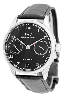 "Image of ""IWC Portuguese Stainless Steel 7 Day Power Reserve Automatic"""