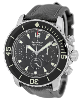 "Image of ""Blancpain Antimagnetic Fifty Fathoms Flyback Chronograph Stainless"""