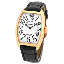 Franck Muller Cintreé Curvex 18K Rose Gold Mid Size Unisex Watch
