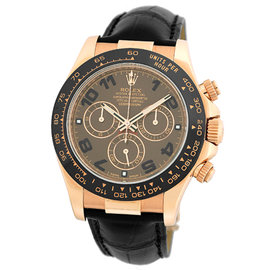 Rolex Daytona 116515 18K Rose Gold & Ceramic Cosmograph 40mm Watch