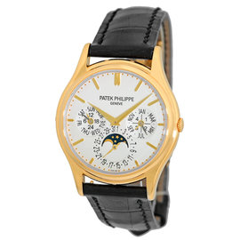 Patek Philippe Perpetual Calendar 5140 J 18K Yellow Gold Mens Strapwatch