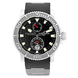 Ulysse Nardin Marine Diver Automatic Stainless Steel Strap Mens 40mm Watch