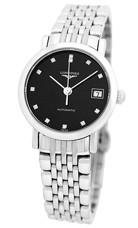 """Image of """"Longines Elegant Collection Stainless Steel Automatic Womens Watch"""""""