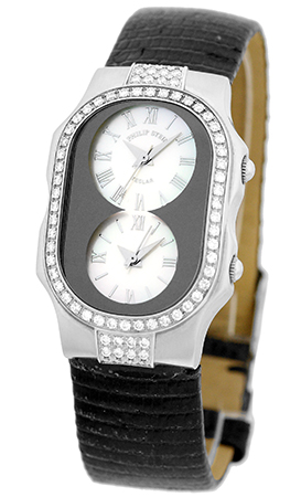 "Image of ""Philip Stein Teslar Diamond Stainless Steel Womens Watch"""