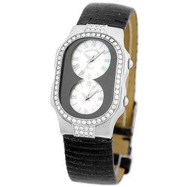 Philip Stein Teslar Diamond Stainless Steel Womens Watch