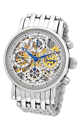 "Image of ""Chronoswiss Opus Ch7523S SBL Stainless Steel Chronograph Automatic"""