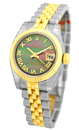 """Image of """"Rolex Datejust Stainless Steel & 18K Yellow Gold Automatic 26mm"""""""