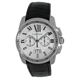 Cartier Calibre de Cartier W7100046 Stainless Steel Automatic 42mm Mens Watch