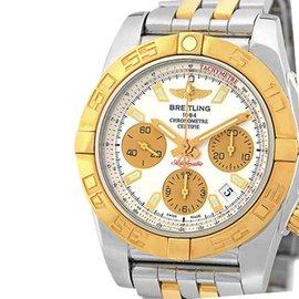 Breitling Chronomat Evolution CB0140 Stainless Steel & 18K Rose Gold 41mm Mens Watch