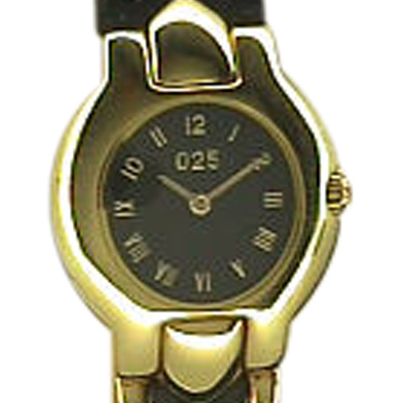 "Image of ""Versace 18K Yellow Gold Strapwatch"""
