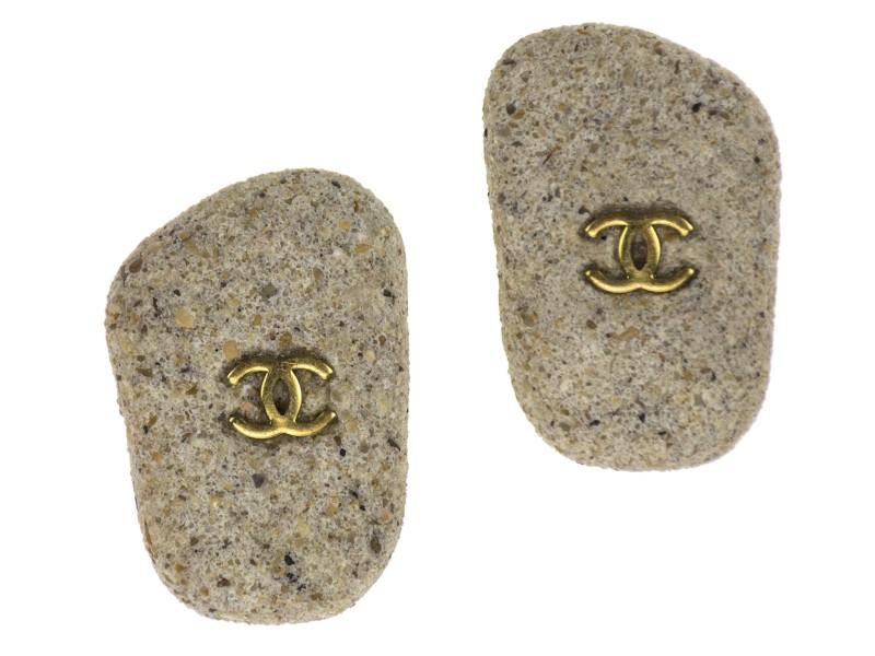 Chanel Sand Earrings