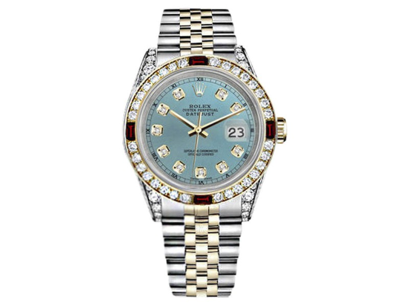 Rolex Datejust Stainless Steel/ 18K Yellow Gold 26mm Womens Watch