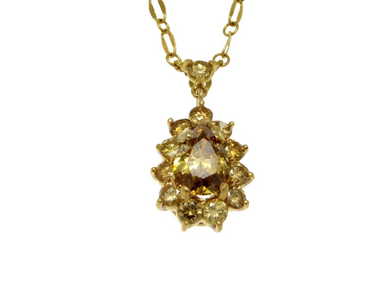 Unoaerre 18K Yellow Gold Necklace