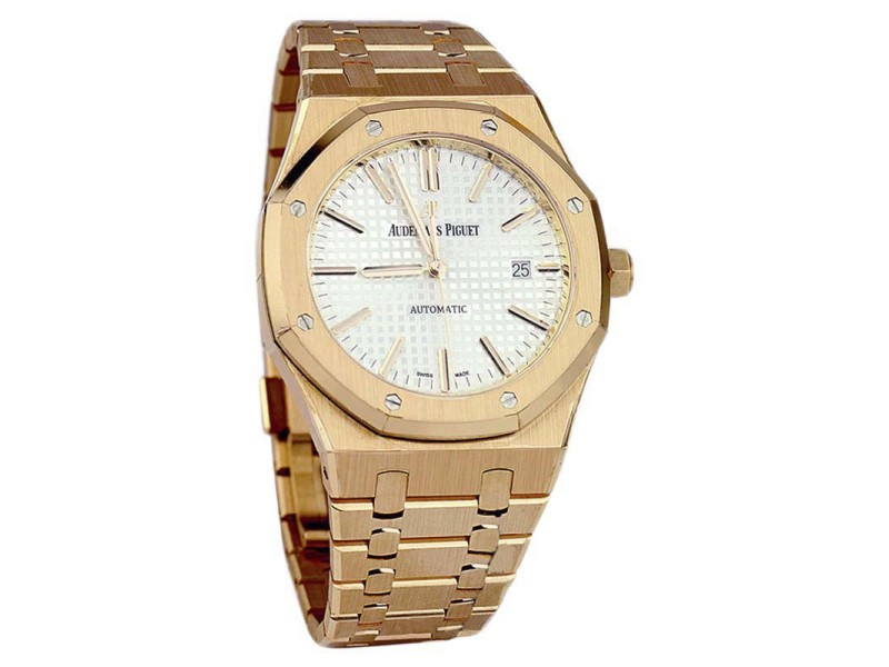 Audemars Piguet Royal Oak 15400OR.OO.1220OR.02 Rose Gold Unisex 41mm Watch