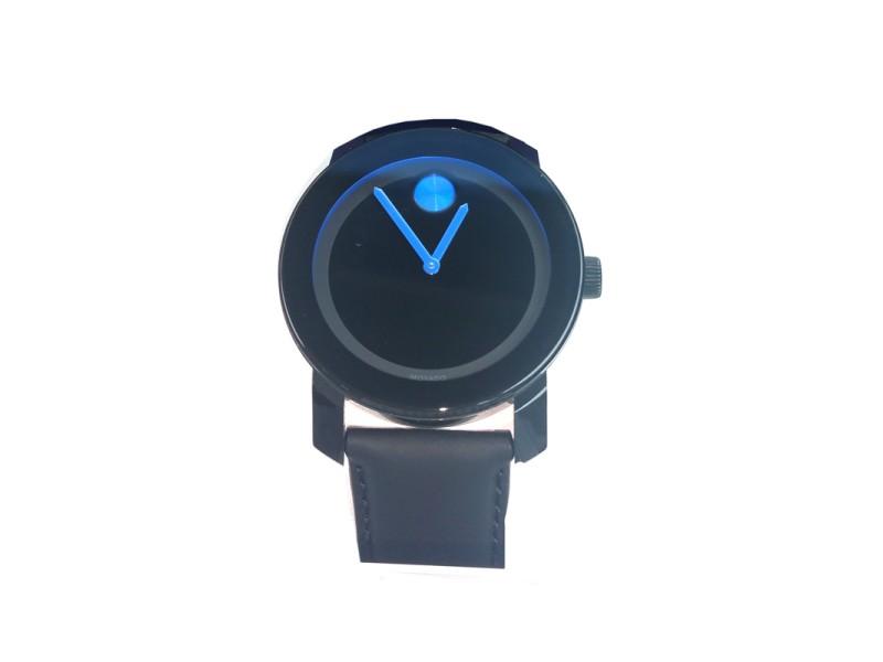 Mens Movado Bold Watch Blue