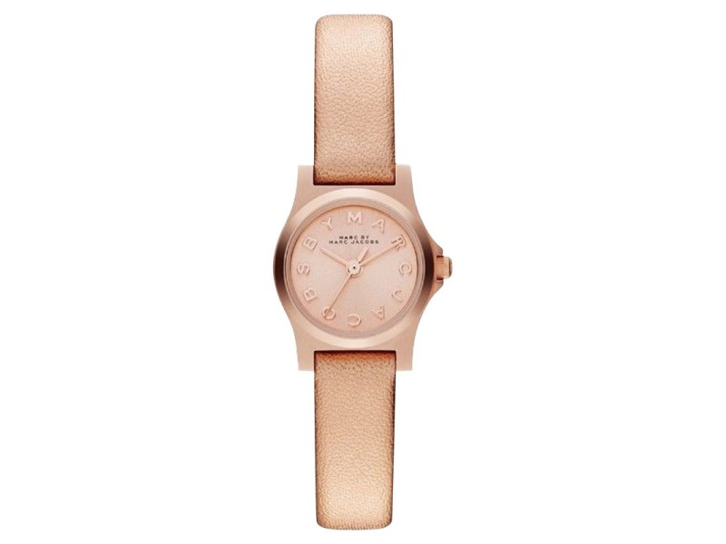 Marc by Marc Jacobs MBM1298 Rose Gold Metallic Henry Dinky Womens Watch