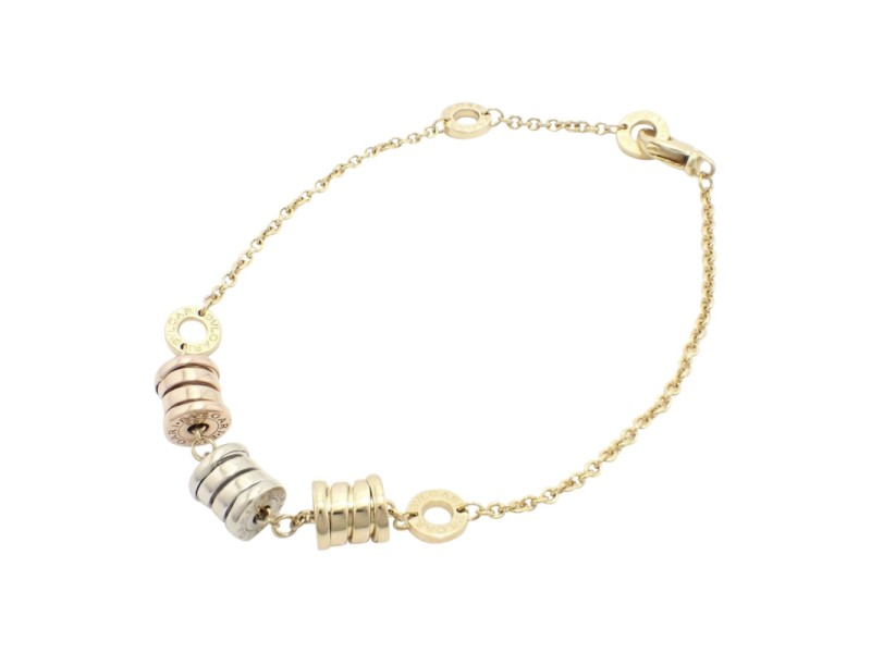 Bulgari B Zero 1 18k Yellow Gold, White Gold and Rose Gold Bracelet