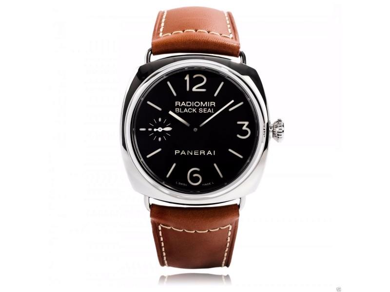 Panerai Pam 183 Steel 45mm Radiomir Black Seal Pam 00183 Watch