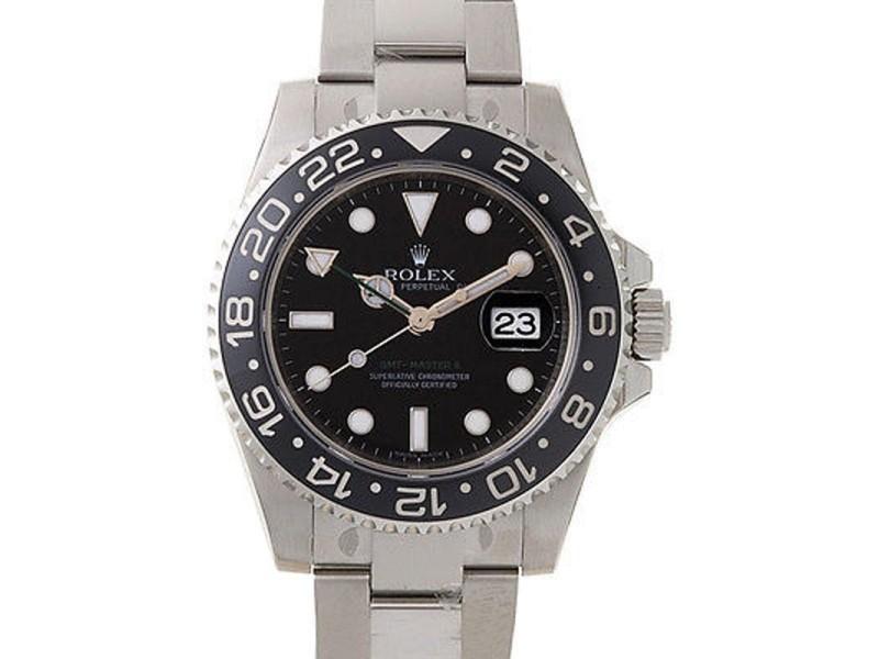 Rolex 116710 GMT Master II Steel Black Dial & Bezel Automatic 40mm Watch