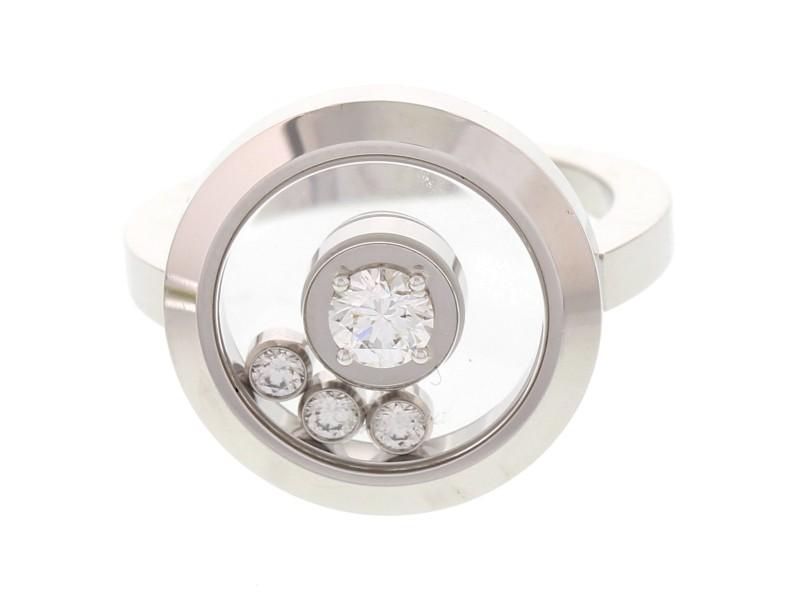 Chopard 18K White Gold & Diamond Ring