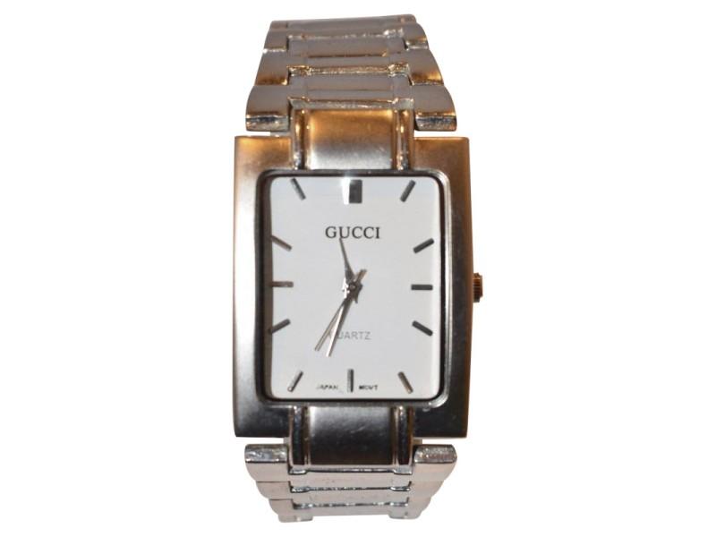 gucci quartz watch. gucci classic 29664 stainless steel quartz 26mm mens watch