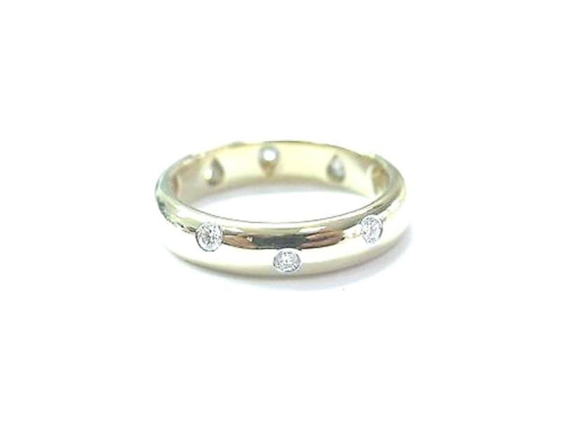 Tiffany & Co Etoile Yellow Gold Diamond Ring